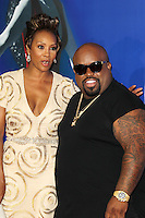 HOLLYWOOD, CA - AUGUST 16: Vivica A. Fox and Cee-Lo at the 'Sparkle' film premiere at Grauman's Chinese Theatre on August 16, 2012 in Hollywood, California. © mpi26/MediaPunch Inc. /NortePhoto.com<br />