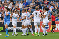 Bridgeview, IL - Sunday August 20, 2017: Sydney Leroux Dwyer during a regular season National Women's Soccer League (NWSL) match between the Chicago Red Stars and FC Kansas City at Toyota Park.