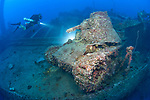 San Francisco Maru, sunk during Operation Hailstone in Truk Lagoon, Chuuk, Micronesia