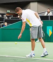 11-02-13, Tennis, Rotterdam, ABNAMROWTT, Daniel Brands