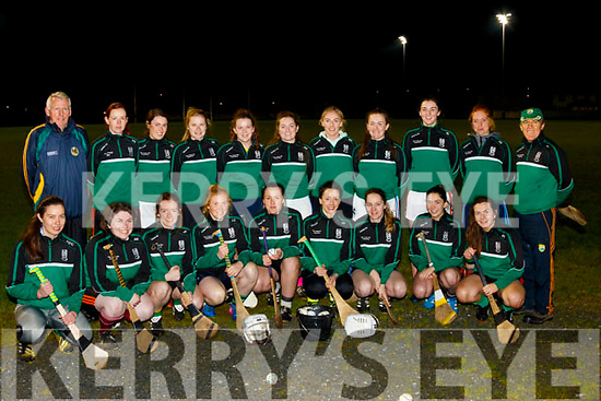 Clanmaurice Comogie team pictured before their training session at Caherslee, Tralee last Friday night, ahead of their All Ireland Junior club Final in Birr, Co Offaly on Sunday November 26th against Killmessan of Co Meath.