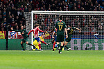 Atletico de Madrid's Antoine Griezmann scores goal during UEFA Champions League match between Atletico de Madrid and AS Monaco at Wanda Metropolitano Stadium in Madrid, Spain. November 28, 2018. (ALTERPHOTOS/A. Perez Meca)