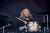 Graveyard paa Hades. Copenhell 2018 p&aring; Refshale&oslash;en i K&oslash;benhavn. Fire dage med rock, metal og dedikerede fans.<br /> <br /> Copenhell 2018 on Refshale Island in Copenhagen. Four days of rock, metal and dedicated fans.<br /> <br /> Foto: Jens Panduro<br /> <br /> Copenhagen, Copenhell, musikfestival, festival, musik, rockmusik, metal, hardcore, thrashmetal, punk, punkrock, metalcore, Refshale&oslash;en, Reffen, koncerter, rockkoncerter., Music Festival, Music, Rock Music, Thrash Metal, Refshale Island, Concerts, Rock Concerts.
