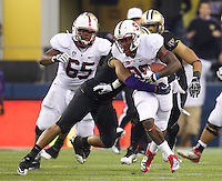 Stanford Football at Washington, September 27, 2012