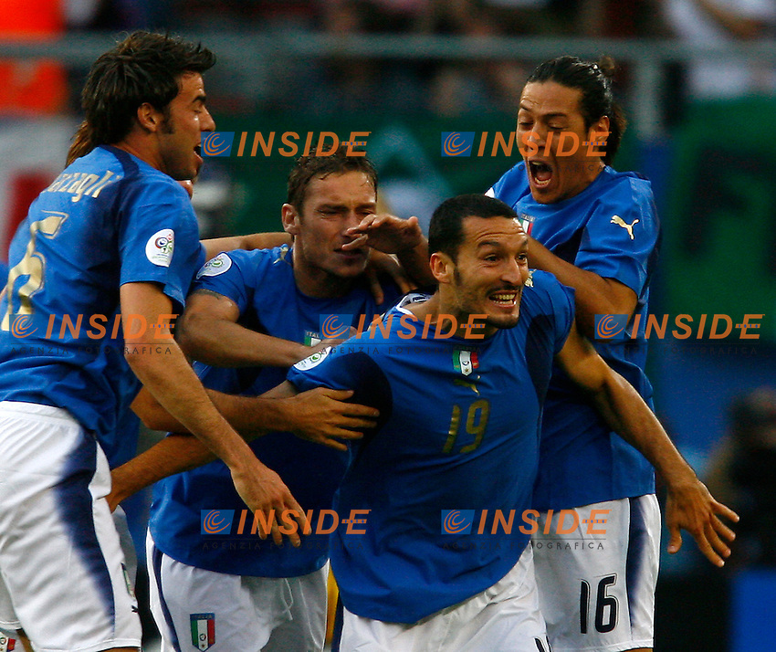 Hamburg 30/6/2006 World Cup 2006 Quarti di finale Italia Ucraina.Photo Andrea Staccioli Insidefoto