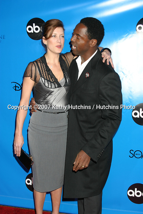 Kate Walsh & Isaiah Washington.ABC Television Critics Association Press Tour Party.Ritz-Carlton Hotel.Pasadena   CA.January 14, 2007.©2007 Kathy Hutchins / Hutchins Photo.