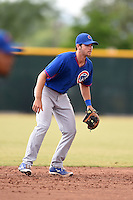 Chicago Cubs shortstop Chesny Young (40) during an Instructional League intersquad game on October 9, 2014 at Cubs Park Complex in Mesa, Arizona.  (Mike Janes/Four Seam Images)