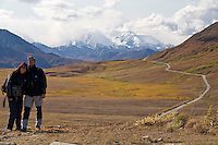 Christiane und Stephan Kappes im Denali National Park