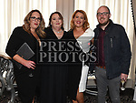 Jane O'Dwyer, Louise Mahony, Orla Keegan and Ollie Smith at the Red Door Project dinner dance in the Westcourt hotel. Photo:Colin Bell/pressphotos.ie