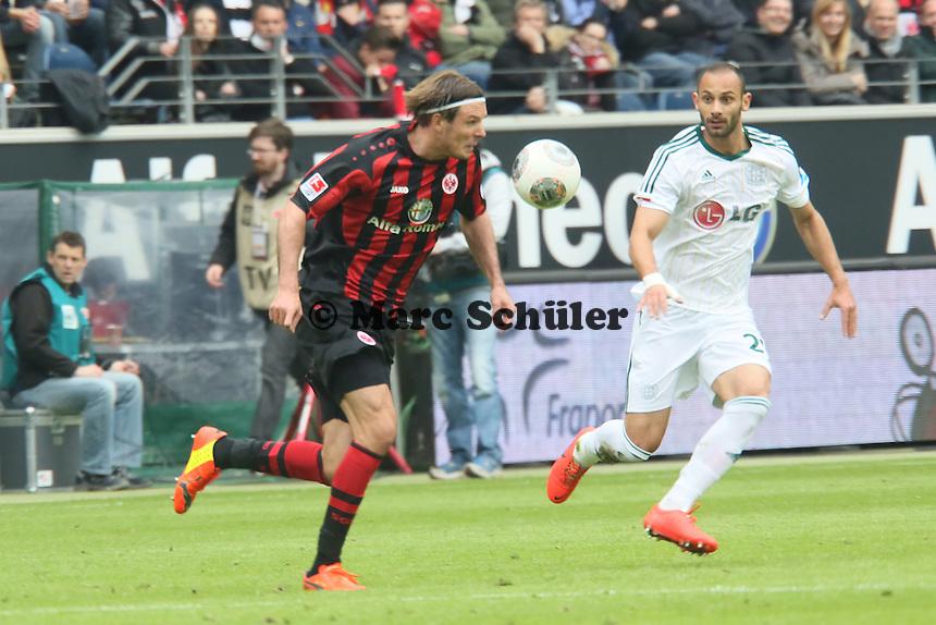 Alex Meier (Eintracht) - Eintracht Frankfurt vs. Bayer Leverkusen, Commerzbank Arena
