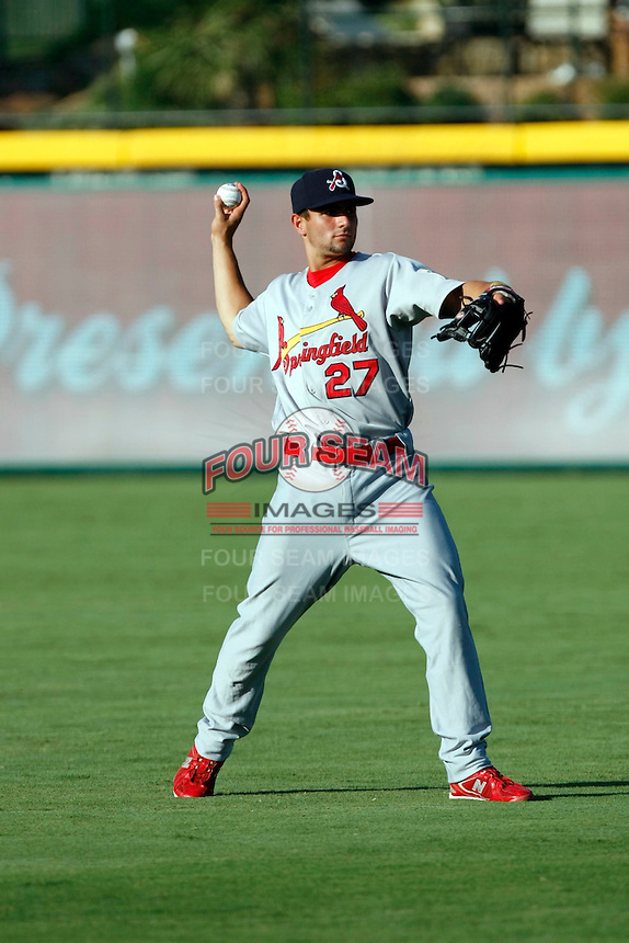 Peter Kozma - Springfield Cardinals.2009 Texas League All-Star game held at Dr. Pepper Ballpark, Frisco, TX - 07/01/2009. The game was won by the North Division, 2-1..Photo by:  Bill Mitchell/Four Seam Images