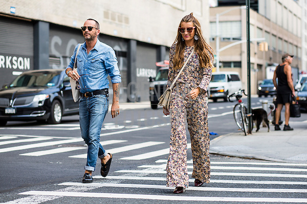 Street Style<br /> <br /> New York - Ver&atilde;o 2017<br /> <br /> Setembro 2016<br /> <br /> FOTOSITE