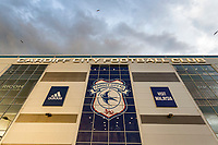General view of Cardiff City Stadium prior to kick off of the Sky Bet Championship match between Cardiff City and Nottingham Forest at the Cardiff City Stadium, Wales, UK. Saturday 21 April 2018