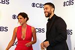 Missy Peregrym, Zeeko Zaki - FBI - CBS Upfront 2018 on May 17, 2018 at the Plaza Hotel, New York City, New York with new Prime Time 2018-19 shows (Photo by Sue Coflin/Max Photo)