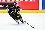 Stockholm 2014-09-11 Ishockey Hockeyallsvenskan AIK - S&ouml;dert&auml;lje SK :  <br /> AIK:s Dennis Nordstr&ouml;m i aktion <br /> (Foto: Kenta J&ouml;nsson) Nyckelord:  AIK Gnaget Hockeyallsvenskan Allsvenskan Hovet Johanneshovs Isstadion S&ouml;dert&auml;lje SK SSK portr&auml;tt portrait