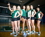 Tulane Women's Volleyball, 2011-2012.  A few images from a team shoot including formal shots, class shots and some out takes.