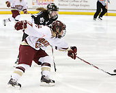 Lauren Wiedmeier (Boston College - 27) - The Providence College Friars and Boston College Eagles tied at 1 on BC's senior night on Saturday, February 21, 2009, at Conte Forum in Chestnut Hill, Massachusetts.