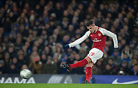 Granit Xhaka of Arsenal during the Carabao Cup semi final 1st leg match between Chelsea and Arsenal at Stamford Bridge, London, England on 10 January 2018. Photo by Andy Rowland.