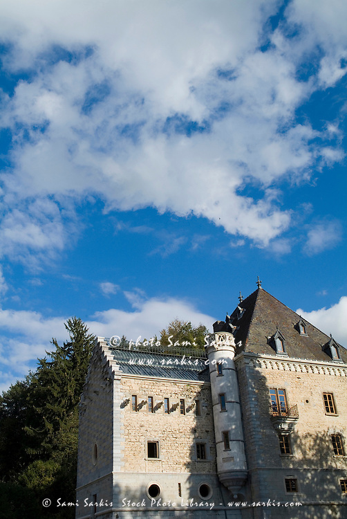Chateau de Rosieres at Ruy, Isere, France.