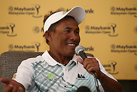 The draw against Europe in the Eurasia Cup was a momentous effort for Team Asia and Thongchai Jaidee (THA) will be forever grateful ahead of the 2014 Maybank Malaysian Open at the Kuala Lumpur Golf & Country Club, Kuala Lumpur, Malaysia. Picture:  David Lloyd / www.golffile.ie