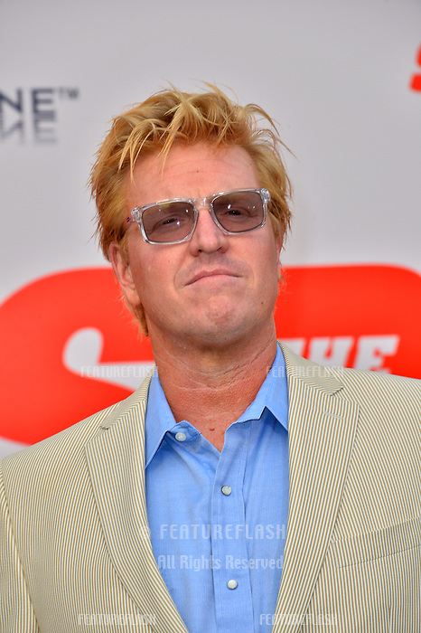 Jake Busey at the world premiere for &quot;The Spy Who Dumped Me&quot; at the Fox Village Theatre, Los Angeles, USA 25 July 2018<br /> Picture: Paul Smith/Featureflash/SilverHub 0208 004 5359 sales@silverhubmedia.com