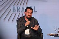 SAO PAULO, 07.08.2018 - ELEI&Ccedil;&Otilde;ES 2018 - O candidato Guilherme Boulos do Psol participa da Govtech 2018 na tarde desta ter&ccedil;a-feira (07) no hotel Tivoli Mofarrej na zona sul de S&atilde;o Paulo.<br /> <br /> (Foto: Fabricio Bomjardim / Brazil Photo Press )