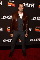 "LOS ANGELES - FEB 20:  Carlos Sanz at ""The Oath"" Season 2 Screening Event  at the Paloma on February 20, 2019 in Hollywood, CA"