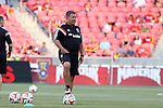 09 August 2014: DC assistant coach Chad Ashton. Real Salt Lake hosted DC United at Rio Tinto Stadium in Sandy, Utah in a 2014 Major League Soccer regular season game. Salt Lake won the game 3-0.
