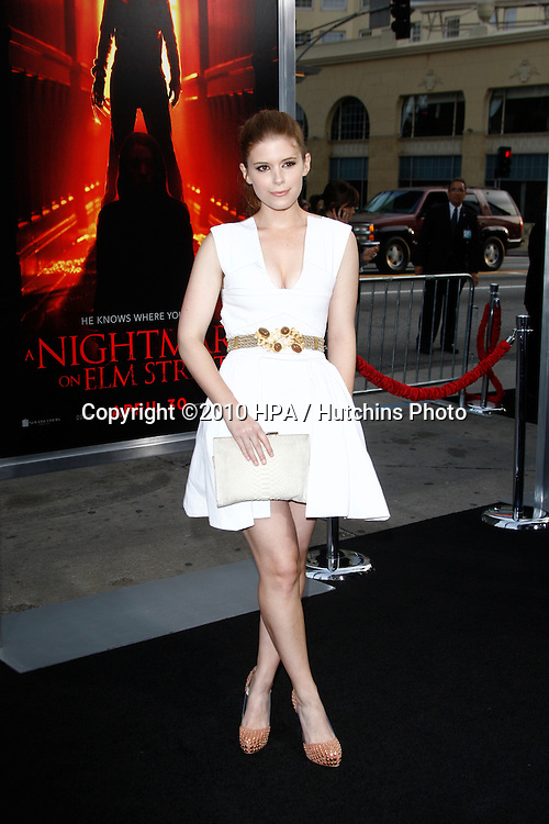 "Kate Mara.arrives at ""A Nightmare on Elm Street"" LAPremiere.Grauman's Chinese Theater.Los Angeles, CA.April 27, 2010.©2010 HPA / Hutchins Photo..."