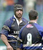 31/01/2004 Parker Pen Challenge Trophy.Bath Rugby v Beziers.Danny Grewcock...   [Mandatory Credit, Peter Spurier/ Intersport Images].