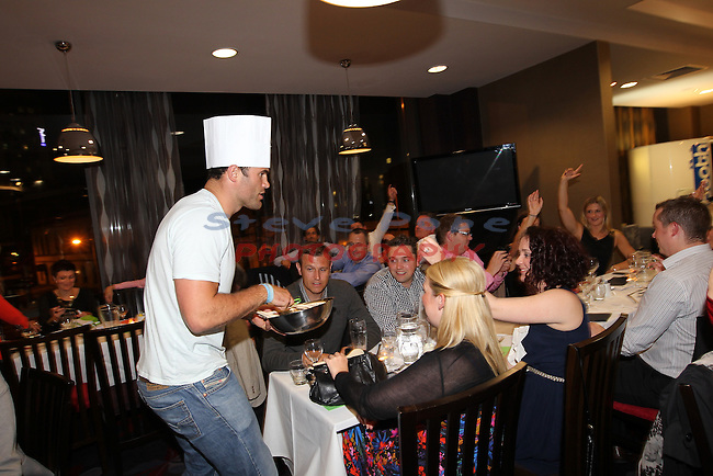 Ty Hafan Celebrity Chef.Jamie Roberts.Maldron Hotel.26.09.12.©Steve Pope