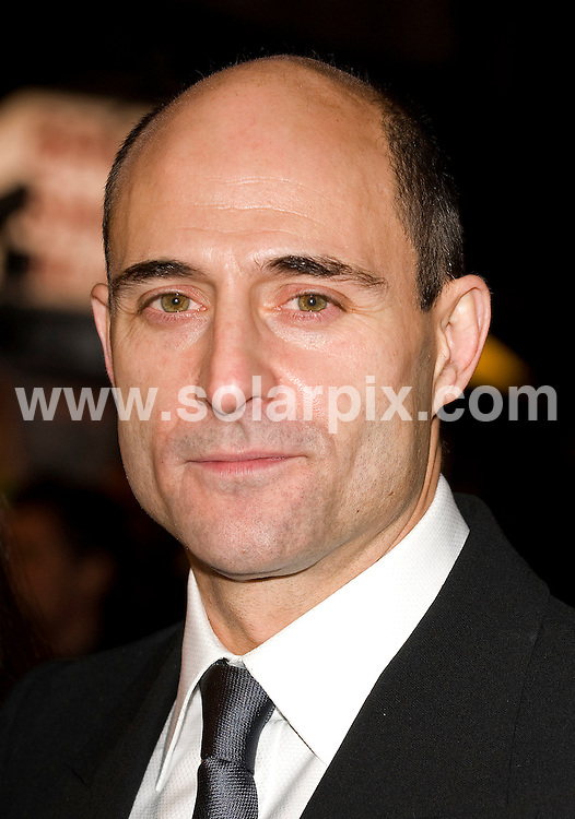 **ALL ROUND PICTURES FROM SOLARPIX.COM** .**WORLDWIDE SYNDICATION RIGHTS**.Guest arrivals for the UK premiere of the film Body Of Lies, held at Vue West End, 3 Cranbourn Street, London, UK. 6th November 2008..This pic: Mark Strong..JOB REF: 7809 SSD DATE: 06_11_2008 .**MUST CREDIT SOLARPIX.COM OR DOUBLE FEE WILL BE CHARGED* *UNDER NO CIRCUMSTANCES IS THIS IMAGE TO BE REPRODUCED FOR ANY ONLINE EDITION WITHOUT PRIOR PERMISSION*