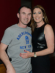 Paddy Winters with his wife Ciara at Tommy Winter's birthday in Brú. Photo:Colin Bell/pressphotos.ie