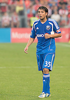 July 3, 2013: Montreal Impact forward Daniele Paponi #35 in action during an MLS game between Toronto FC and Montreal Impact at BMO Field in Toronto, Ontario Canada.<br /> The game ended in a 3-3 draw.