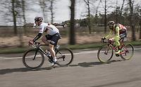 André Greipel (DEU/Lotto-Soudal) speeding along<br /> <br /> 105th Scheldeprijs 2017 (1.HC)<br /> 1 Day Race: Mol › Schoten (BEL/202km)
