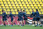FK Trakai v St Johnstone&hellip;05.07.17&hellip; Europa League 1st Qualifying Round 2nd Leg<br />St Johnstone training at the LFF Stadium in Vilnius, Lithuania pictured Blair Alston during the session<br />Picture by Graeme Hart.<br />Copyright Perthshire Picture Agency<br />Tel: 01738 623350  Mobile: 07990 594431