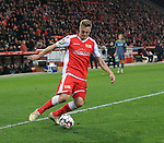 08.03.2019, Stadion an der Wuhlheide, Berlin, GER, 2.FBL, 1.FC UNION BERLIN  VS. FC Ingolstadt 04, <br /> DFL  regulations prohibit any use of photographs as image sequences and/or quasi-video<br /> im Bild Felix Kroos (1.FC Union Berlin #23)<br /> <br />      <br /> Foto &copy; nordphoto / Engler