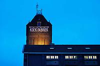 Nederland Zaandam 2019. De oude Verkade Fabriek aan de Zaan. Tegenwoordig zijn er in het pand diverse bedrijven, zoals Verskade en the Bakery Institute gevestigd. Foto Berlinda van Dam / Hollandse Hoogte