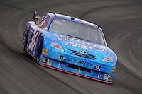 Oct. 11, 2009; Fontana, CA, USA; NASCAR Sprint Cup Series driver Michael McDowell during the Pepsi 500 at Auto Club Speedway. Mandatory Credit: Mark J. Rebilas-