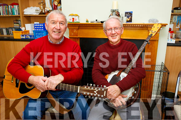 Entertaining at the  Castleisland Day Care Centre. Social event for the community on Sunday were Tim Hickey and Terry McQuinn