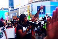 NEW YORK, NY - JULY 26:  Protect Black Women March and Rally held in the Times Square area on July 26, 2020 in New York City. <br /> CAP/MPI34<br /> ©MPI34/Capital Pictures