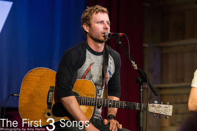 Dierks Bentley performs on Day One of the 2014 CMA Music Festival in Nashville, Tennessee.