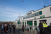 General view outside the ground ahead of the Sky Bet League 2 match between Plymouth Argyle and Wycombe Wanderers at Home Park, Plymouth, England on 26 December 2016. Photo by Mark  Hawkins / PRiME Media Images.