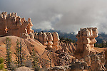 Hoodoos along the northern Rim Trail