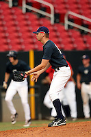 September 15, 2009:  Karsten Whitson, one of many top prospects in action, taking part in the 18U National Team Trials at NC State's Doak Field in Raleigh, NC.  Photo By David Stoner / Four Seam Images