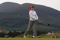 Michelle Forsland (NOR) on the 2nd tee during Round 2 of the Women's Amateur Championship at Royal County Down Golf Club in Newcastle Co. Down on Wednesday 12th June 2019.<br /> Picture:  Thos Caffrey / www.golffile.ie