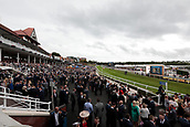 June 10th 2017, Chester Racecourse, Cheshire, England; Chester Races Horse racing; The crowd at Chester races