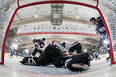 Bonnyville, AB - Dec 9 2018 - USA vs. Canada West during the 2018 World Junior A Challenge at the R.J. Lalonde Arena in Bonnyville, Alberta, Canada (Photo: Matthew Murnaghan/Hockey Canada)