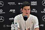 12.06.2019, Tennisclub Weissenhof e. V., Stuttgart, GER, Mercedes Cup 2019, ATP 250, Jo-Wilfried TSONGA (FRA) vs Milos RAONIC (CAN) [6] <br /> <br /> im Bild  Milos RAONIC (CAN) [6] in der Pressekonferenz<br /> <br /> Foto © nordphoto/Mauelshagen
