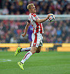 Darren Fletcher of Stoke City during the premier league match at the Britannia Stadium, Stoke. Picture date 19th August 2017. Picture credit should read: Robin Parker/Sportimage